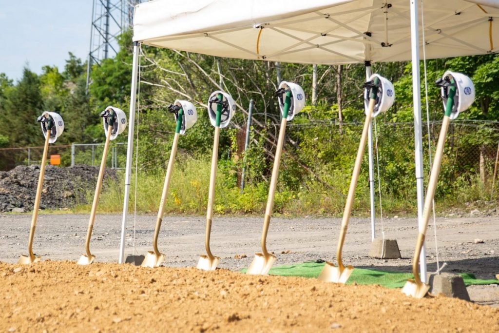 Pen Argyl Borough holds Ground Breaking Ceremony for New Fire Station.